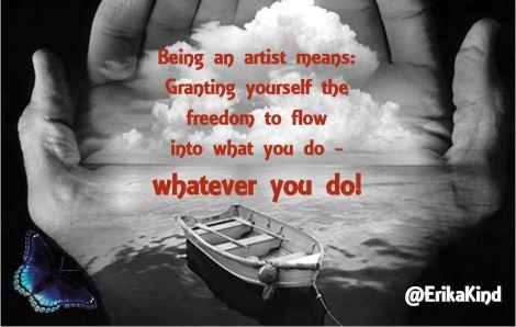 Artistic flow