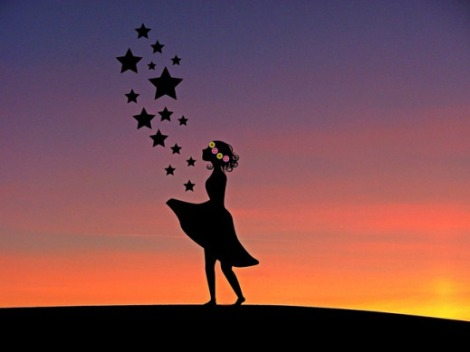Girl Fairy Tale Sterntaler Child Human Fairy Tales