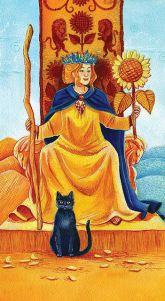 Tarot Guidance for Tuesday 20 February 2018: Queen of Wands