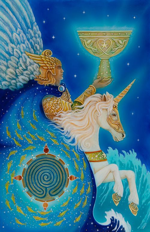 Tarot Guidance for Monday 22 October 2018: Knight of Cups —