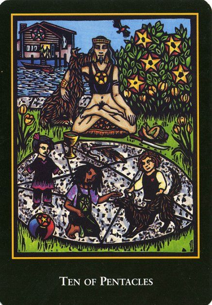 Tarot Guidance for Tuesday 31 March 2020: 10 of Pentacles —