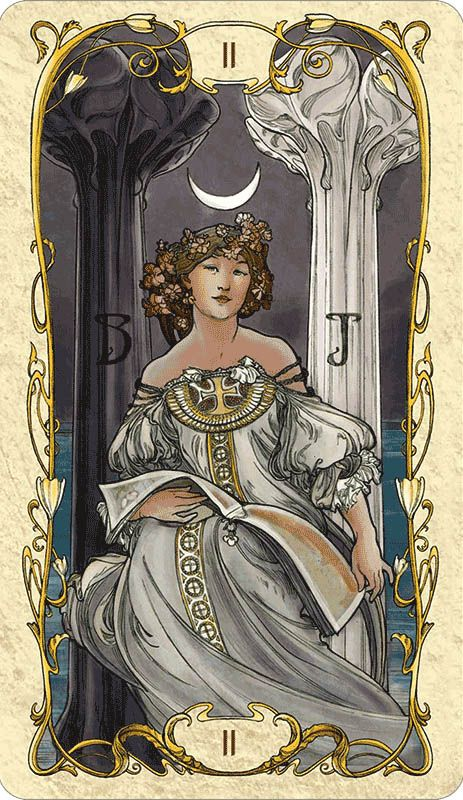 Tarot Guidance for Friday 10 July 2019: The High Priestess