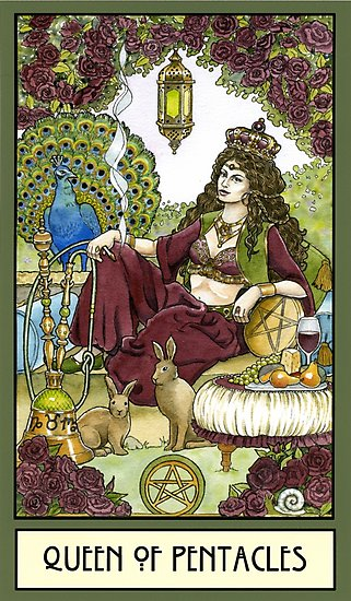 Tarot Guidance for Sunday 20 September 2020: Queen of Pentacles